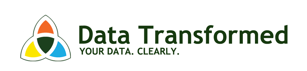 data transformed logo